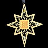 Golden 60's Christmas Ornament