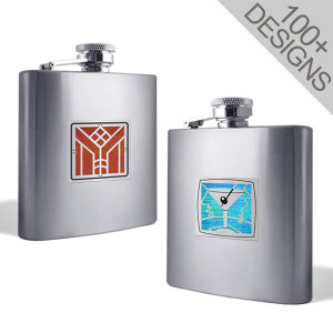 Unique Flasks Personalized with 100s of Cool Designs
