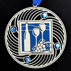 Wine Glasses Personalized Ornaments