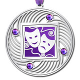 Drama Masks Ornament