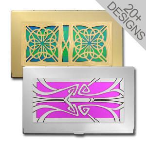 Custom Designer Business Card Cases