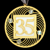 Keepsake 35th Birthday Ornament