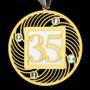 Keepsake 35th Birthday Ornament
