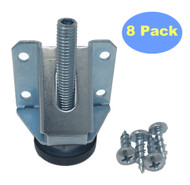 MCS280100-8 Heavy Duty Adjustable Leg Leveler 8-Pack