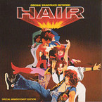 Hair 20th Anniversary Edition Soundtrack album on CD
