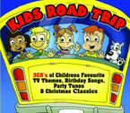 Various Artists - Kids Road Trip 3CD Box-Set