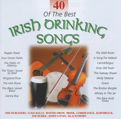 Various Artists - 40 Of The Best Irish Drinking Songs 2CD