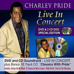 Charley Pride - Live In Concert / Classics With Pride 2CD/DVD