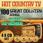 Various Artists - Hot Country TV 4CD Box-Set
