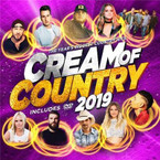 Various Artists - Cream Of Country 2019 CD/DVD