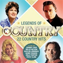 Various Artists - Legends Of Country Vol. 1 CD
