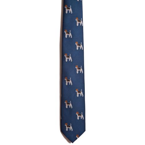 Chipp Wire Fox Terrier tie
