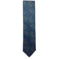 Chipp Blue Ancient Madder Paisley Print Tie