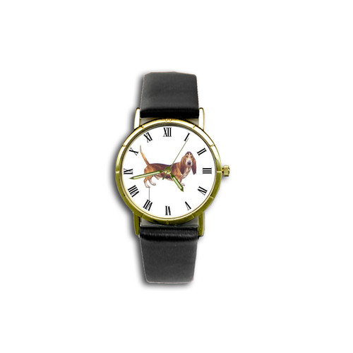 Chipp Basset Hound Watch