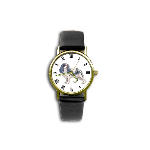 Chipp Cavalier King Charles Spaniel (Tri-Colored) Watch