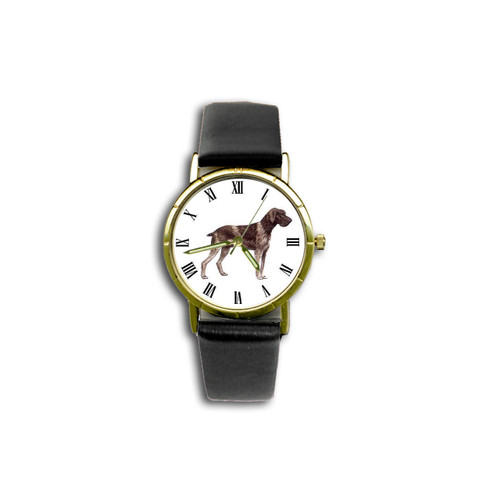 Chipp German Wirehaired Pointer Watch