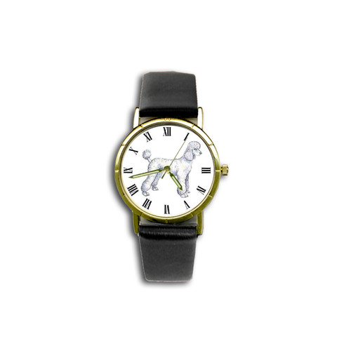 Chipp Poodle (White with Lamb Cut) Watch