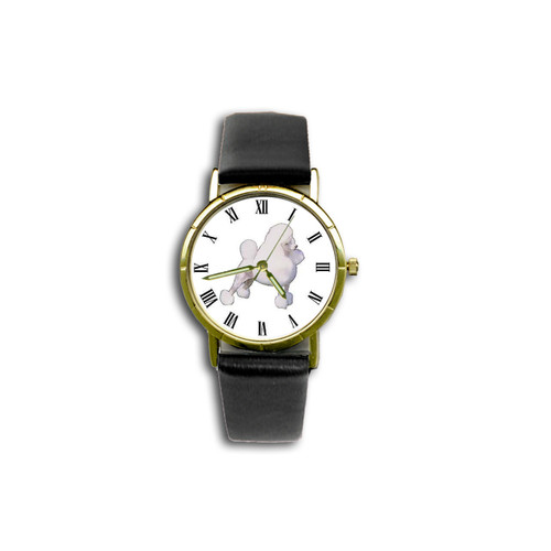 Chipp Poodle (White with Show Cut) Watch