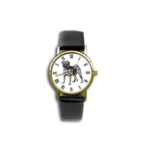 Chipp Pug (Black) Watch