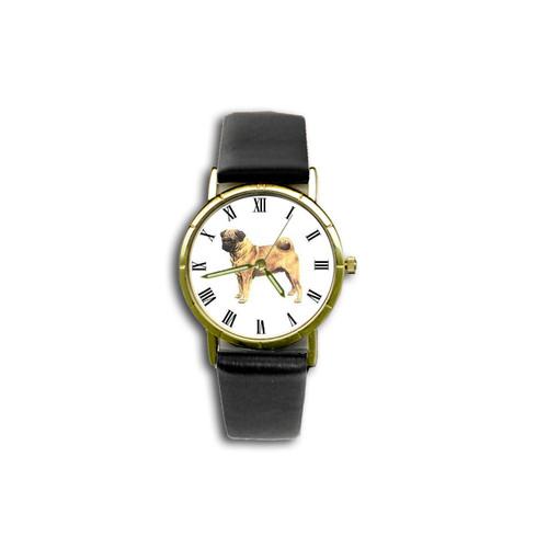 Chipp Pug (Fawn) Watch