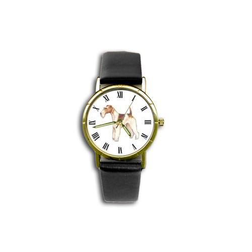 Chipp Wire Fox Terrier Watch