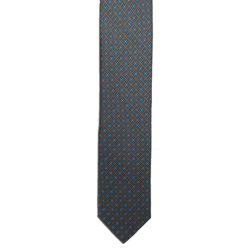 Brown Ancient Madder Small Print Tie