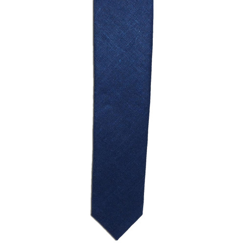 Electric Blue Silk Matka Tie