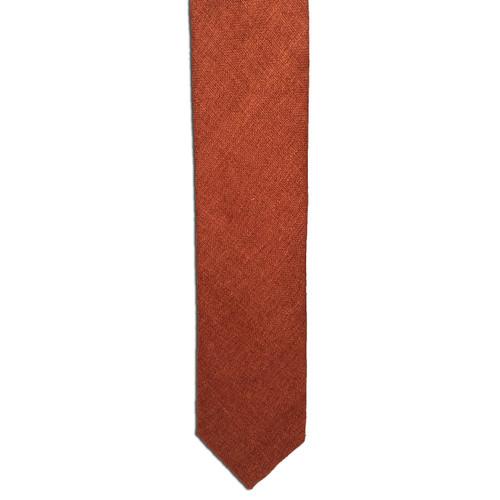 Rust Silk Matka Tie