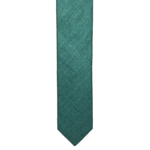 Fern Green Silk Matka Tie