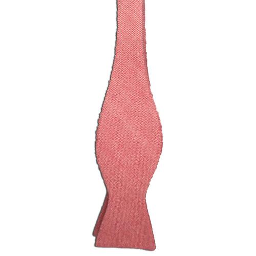 Pink Silk Matka Bow Tie
