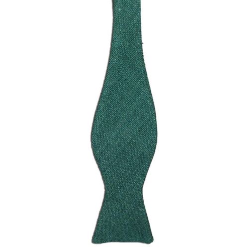 Fern Green Silk Matka Bow Tie