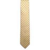 Dot Print Foulard Tie