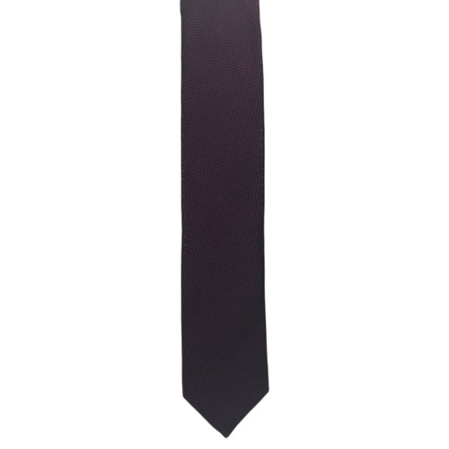 Chipp Wine and Navy Two-Tone Grenadine Tie