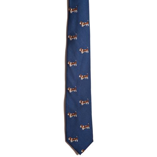 Chipp Basset Hound tie