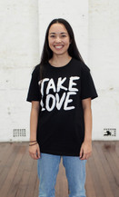 Classic Take Love Tee - Black