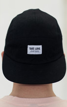 Take Love 5 Panel Hat