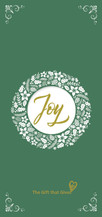 Gift of Joy - Your Choice $ - GREEN