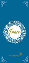 Gift of Peace - $50.00 - BLUE
