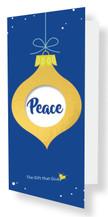 Gift of Peace - $50.00 - DARK BLUE
