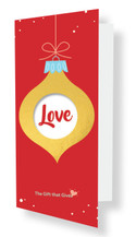 Gift of Love - $25.00 -  RED