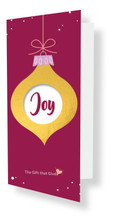 Gift of Joy - Your Choice $ - BURGUNDY