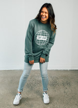 Globe Jumper - Sage