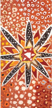 Aboriginal Christmas Card - Star 2020