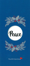 Gift of Peace - Blue - $50.00