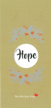 Gift of Hope - Gold - $75.00