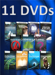 Set of All 11 of Our DVDs