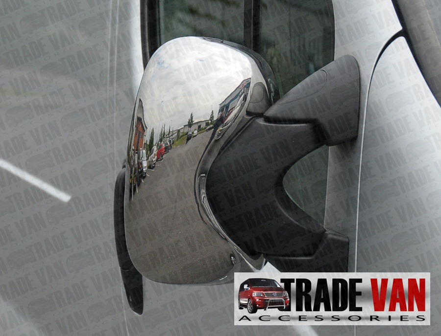 vivaro chrome mirror covers for Vauxhall Vivaro Styling Accessories