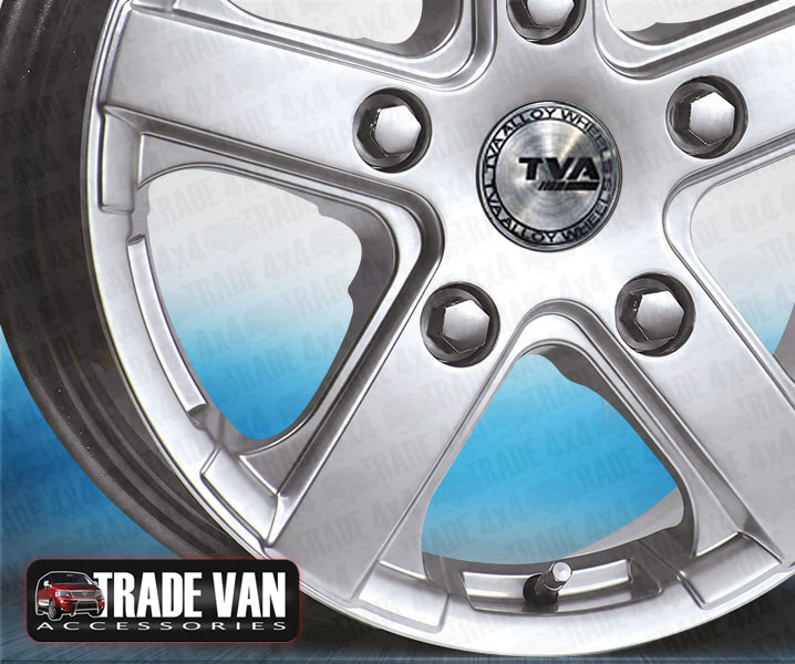Transit Custom Silver Viper Van Alloy Wheel at Trade Van Accessories