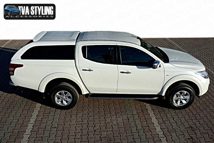 Our Mitsubishi L200 Hardtop Covers really upgrade your Ford Ranger Pickup. Buy all your pickup accessories online at TVA Styling.