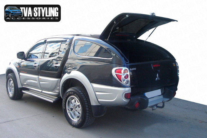 Our Mitsubishi L200 Hardtop Covers really upgrade your Mitsubishi L200 Pickup. Buy all your pickup accessories online at TVA Styling.